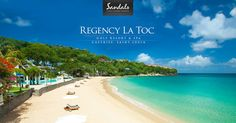 With a gorgeous beach, gourmet dining across 3 resorts, opulent rooms, unlimited drinks, exciting watersports & more, choose Sandals Regency La Toc as your next luxury tropical escape.