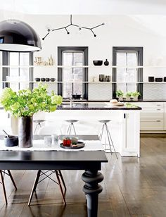 Kitchen design: Open-concept kitchen {PHOTO: Stacey Brandford}