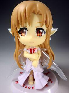 Sword Art Online SAO Ver. Asuna Ichiban Kuji Kyun Chara Mini Figure JAPAN ANIME