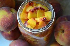 ~Stella B's Kitchen: Grandma Stella's Freezer Peaches