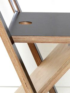 WoodMood La chaise pliante par Mathieu Camillieri