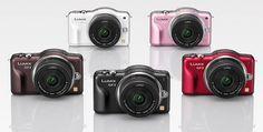 Самая маленькая и легкая системная фотокамера Panasonic Lumix DMC-GF3C. Поддержка 3D-фото, сенсорный экран, съемка видео Full HD и многое другое.