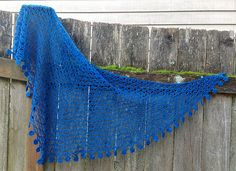Forget-Me-Knot Shawl By Laurinda Reddig - Purchased Crochet Pattern - (ravelry)