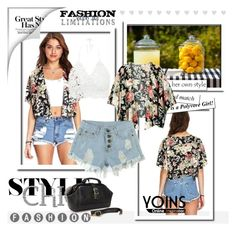 """""""Yoins #60"""" by hodzicnura ❤ liked on Polyvore featuring yoinscollection"""