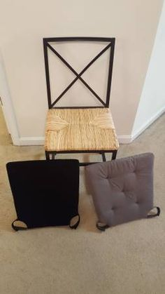 Chairs (and cushions) for DR.