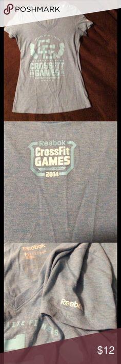 CrossFit Games shirt Slim fitting soft tee Reebok Tops Tees - Short Sleeve