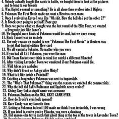 Pokemon defines my childhood