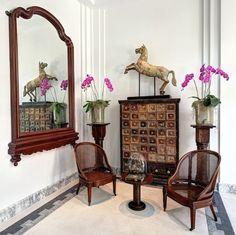 the siam bangkok lobby corner detail #1