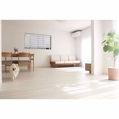 Declutter Your Home Minimalist Interior, Minimalist Living, Japanese Minimalism, Living Room White, Japanese Interior, Declutter Your Home, Simple House, Living Spaces, Architecture