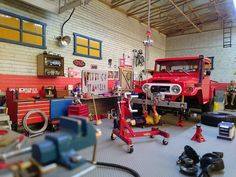 Scale garage is scale!!
