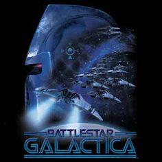 Classic Battlestar Galactica Cylon Attack T-Shirt, NEW UNWORN   Starbase Atlanta