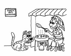 dibujo para colorear la castañera Halloween, Comics, Boys, Valencia, Fictional Characters, Free Coloring Pages, Crafts For Kids, Picasa, Activities