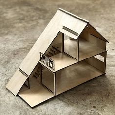Tiny House Cabin, Tiny House Design, Modern House Design, Concept Architecture, Architecture Design, Country Style Living Room, House Vector, Dog Rooms, 3d Models