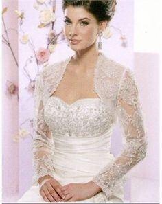 all lace bolero, beautiful~