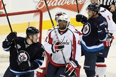 NHL Preview: Capitals Trying To Secure Southeast Division Title Against Battling Jets.  www.betowi.com