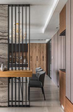 42 stunning modern partition design ideas for living room 10
