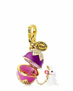 Limited Edition EASTER Bunny Charm _____________________________ Photos combined by Dr. Veronica Lee, DNP (Depew/Buffalo, NY, US)