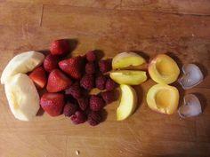BenniPassioneCucina : Smoothie (mela,fragole, lamponi, pesca e albicocca...