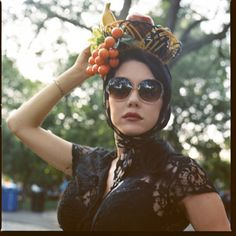i always wanted to make a fruit hat.