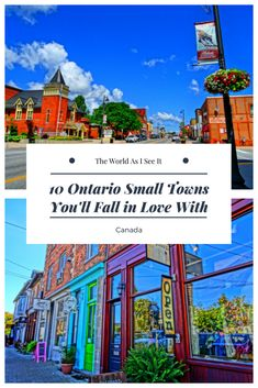 10 Ontario Small Towns You'll Fall in Love With