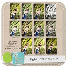 Lightroom Presets 14 by Sabrina Dupre.  {Another awesome set!}