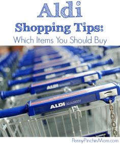"I truly love shopping at Aldi and find that it really stretches our food budget! Of course, with any store, there are those items you would want to buy and those you might avoid grabbing. I've compiled my list of ""Must Buy"" items here for you! You will find the items we always buy at Aldi (after trying them and knowing that they work for our family)."