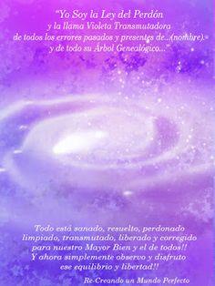 Metafísica-hoy: Yo soy la ley del Perdón y la llama Violeta Transm...