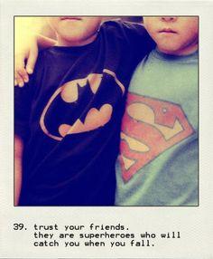 Superhero Friends: Def Zachary and Nicholas, its always batman vs. superman who would win....jeez.