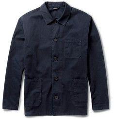 A.P.C. - Regular-Fit Cotton-Twill Lightweight Jacket | MR PORTER
