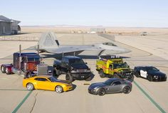 Vehicles involved in Transformers movies