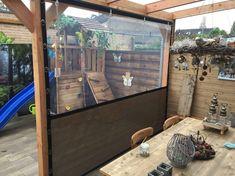 verandazeilen.nu – verandazeilen van HDPE Canopy Outdoor, Outdoor Pergola, Outdoor Rooms, Deck Landscaping, Backyard Patio Designs, Enclosed Gazebo, Garden Cabins, Gazebo Decorations, Patio Enclosures