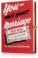 BNWT Limited Edition 'You & Your Marriage' Clutch by OLYMPIA LE-TAN