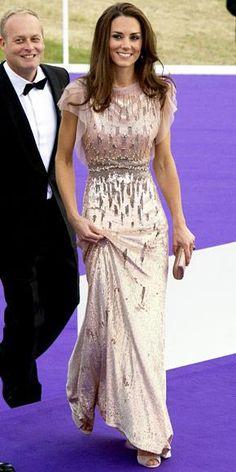 Kate Middleton wears Jenny Peckham