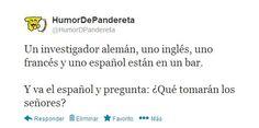 Únete a nosotros: http://facebook.com/HumorDePandereta También estamos en Twitter, ¡Síguenos!: http://twitter.com/HumorDPandereta