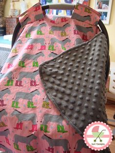 Custom designed personalized baby blankets and car seat canopies starting at $60 at www.sun7designs.com.  Check out our Facebook page for monthly specials http://www.facebook.com/sun7designs