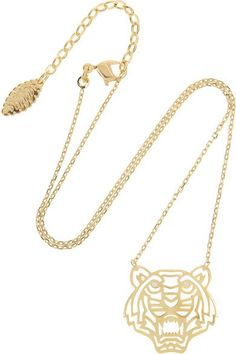 Rad List: Kenzo Tiger Necklace