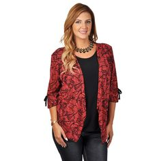 @Overstock - Tressa Collection Women's Contemporary Plus Layered Print Top - Look chic in this stylish contemporary plus top from Tressa Collection! This shirt features lightweight silky material that highlights a striking print. A layered design features a contrasting bodice and bows accent the sleeves.  http://www.overstock.com/Clothing-Shoes/Tressa-Collection-Womens-Contemporary-Plus-Layered-Print-Top/9365991/product.html?CID=214117 $34.99