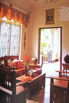 Filipino architect contractor 2 storey house design for Filipino inspired interior design