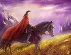 Feanor in Exile by ~edarlein on deviantART