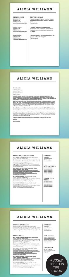 Resume template for MS Word Resume Templates $2000 Resume - the modern resume