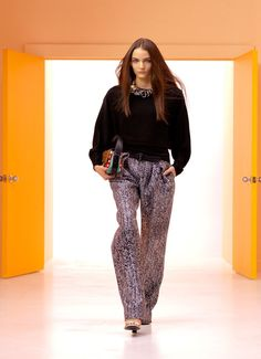 Balenciaga by Nicolas Ghesquière Pants | Resort 2012 | Order now on RESEE.com