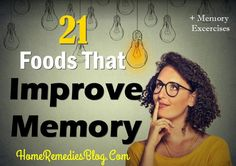21 Foods That Improve Memory Naturally