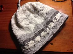 Ravelry: Sheep and Pickle Farm Vermont SheepScape Hat pattern by Sheep and Pickle Designs