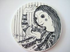 Jane Foster Blog: Danish Bjorn Wiinblad ceramic picture