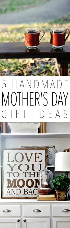 5 Handmade Mother's