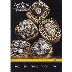 NFL: America's Game: Pittsburgh Steelers (5 Discs)