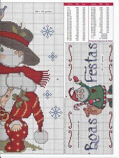 Santa and snow 3/3