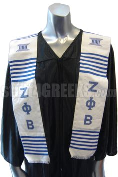 Zeta Phi Beta Kente Graduation Stole