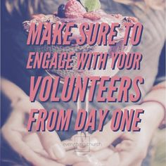 Make sure to engage with your volunteers from day one. ⠀ __⠀ First introduce yourself, either individually and personally, or in a group session at a training or meet and greet. Then regularly send emails and text messages to help build rapport.⠀ __⠀ To read the full post, and for more kingdom building, church growing, people leading tips, check out our website!⠀ __⠀ #everythingchurch #leadership #pastors #church #ministry #podcast #itunes #churchleadership #churchstaff #leadpastors…