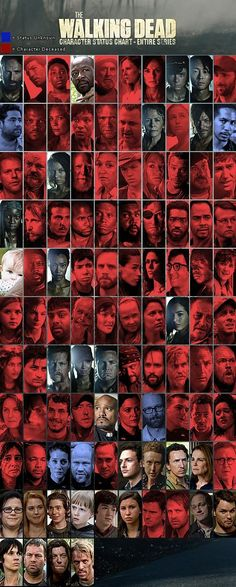 THE WALKING DEAD Infographics Reveal Kill Counts, Who's Still Alive, and More